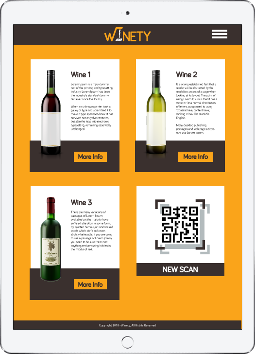 Winety app